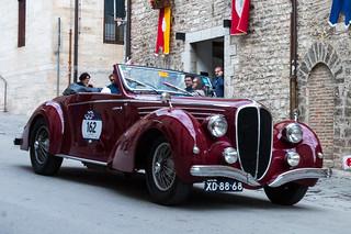 Mille Miglia, Gubbio 2017