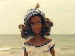 Eufrasie (ArtCat80) Tags: blythe made move yoga summer sea joyce asha artcat doll