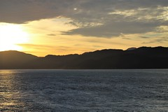 British Columbia ~ magic hour (karma (Karen)) Tags: canada britishcolumbia cruising hollandamerica mountains sea clouds magichour sunset