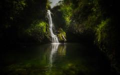 The Road to Hana (PrevailingConditions) Tags: maui hawaii roadtohana waterfall pool water lush peaceful landscape