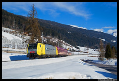 Lokomotion 189 903, Radstadt 04-02-2017 (Henk Zwoferink) Tags: schwemmberg salzburg oostenrijk at henk zwoferink lomo alpenexpress euroexpress ee euro express alpen lokomotion lm rtc rail traction company 189 903 es64f4 railexperts re