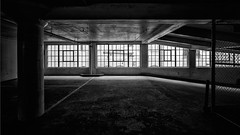 Inside Out (shutterclick3x) Tags: parking garage bw blackandwhite urban frankloose