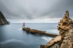 Punta San Juan (Iñigo Amuchastegui) Tags: water sea long exposure landsape basque coutry pasajes san juan coast