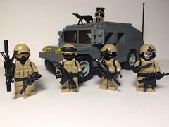 JSOC Detachment Delta (jonahfox1) Tags: humvee moc us m4 operator special specialoperations military arms legs brick warfare war modern brickarms lego