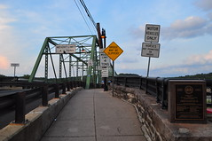 New Hope–Lambertville Toll Supported Bridge (Triborough) Tags: pa pennsylvania buckscounty newhope