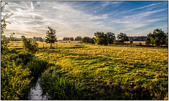 Wistow (Peter Leigh50) Tags: leicestershire rural countryside farmland field sky trees wistow river sence early morning sunshine sun sunny canon eos 6d