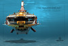 "Hammerhead-5 (Markus ""Madstopper"" Ronge) Tags: lego submarine moc steampunk madstopper nautical submersible uboot"