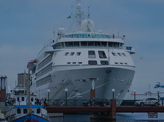 Cruise ship Silver Cloud in Helsingborg (frankmh) Tags: ship cruiseship silvercloud helsingborg skåne sweden outdoor