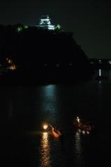 ✪2017犬山木曽川鵜飼開幕② -愛知県犬山市1- (m-miki) Tags: nikon d610 japan aichi inuyama 日本 愛知 犬山 木曽川 鵜飼い 篝火 な 綱 夜 犬山城 国宝 cormorant fishing castle national treasure light up