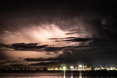 Stormy Night (betadecay2000) Tags: beta eta storm darwin northern territory gewitter nacht blitz blitze lightning wolke wolken cloud clouds 31072017 2017 stokes wharf hill nite langzeitbelichtung gewitterstimmung himmel