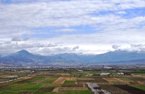Khor Virap (Armenia). Paisaje desde el monasterio