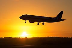 Alitalia - Airbus A320-216 EI-DTB @ Cardiff Rhoose (Shaun Grist) Tags: eidtb az alitalia airbus a320 shaungrist cwl egff cardiff cardiffairport cardiffrhoose rhoose wales sunrise airport aircraft aviation aeroplanes airline avgeek