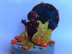 Time travel flash (josh tittarelli) Tags: minifigure travel time flash cw custom lego