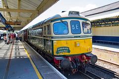D6512 Wareham 18.06.17 (Sarum33) Tags: swanage railway class33 33012 d6512 wareham
