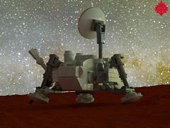 Viking Lander (Umbra-Manis) Tags: nasa space lego digital mecabricks mars viking