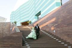 Vamos de boda (kinojam) Tags: gente people pareja couple shooting desfile modelo model belleza beaty moda fashion boda wedding verde madera wood escalera kino kinojam canon canon6d