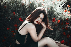 Poppies (Anaïs Popy) Tags: freckles beauty eyes nikon anaispopy floral flowers poppy poppies nature