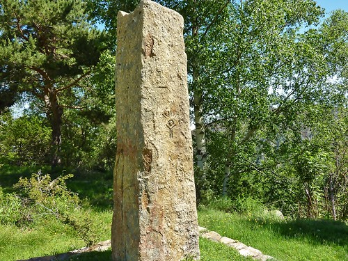 Massif du Canigou, Stele de La Mouline