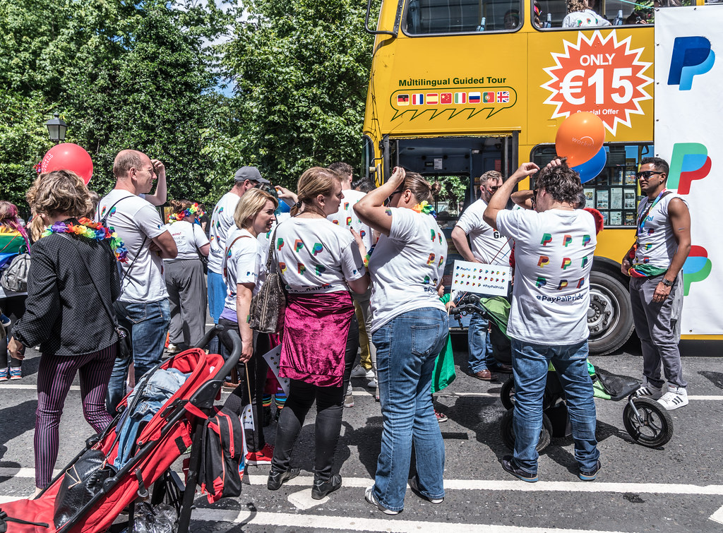 LGBTQ+ PRIDE PARADE 2017 [STEPHENS GREEN BEFORE THE ACTUAL PARADE]-129874