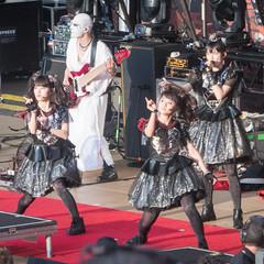 BABYMETAL at Shoreline Amphitheatre #12 (satoshikom) Tags: panasonicdmczs100 babymetal shorelineamphitheatre heavymetal concert yuimetal moametal sumetal