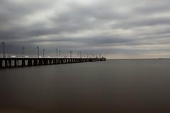 Pier in Orłowo - Gdynia (Hubert J. Farnsworth) Tags: pier gdynia poland sea sky pomeranian
