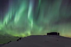 Arctic lights (martinzorn) Tags: aurora borealis norway arctic landscape gree north northernlights nordlicht lofoten eggum winter polar