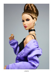 """""""Every time I show up  Blow up uh"""" (L.Royalty55) Tags: fashionroyalty nuface nu face ayumi nakamura totalbetty fr2 fr fr3 recklesscollection fashion doll toy integritytoys it barbie"""