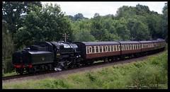 43106 steaming into Highley Station (zweiblumen) Tags: 43106 steam locomotive train classic vintage severnvalleyrailway stepbacktothe1940s highley england uk polariser lmsivattclass4 shropshire canoneos50d canonef50mmf14usm zweiblumen 260