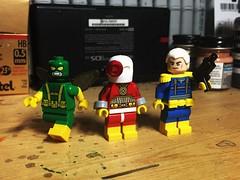 BOOTS (LordAllo) Tags: lego dc marvel boots parademon deadshot cable secret six suicide squad apokalypse xmen xforce uncanny