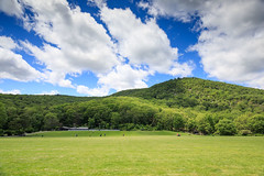 Bear Mountain Lawn (Jemlnlx) Tags: canon eos 5d mark iv 4 5d4 5div ef 1635mm f4 l is usm wide angle zoom lens new york state nys parks bear mountain empire park ny landscape tiffen bw gnd graduated neutral density filter filters circular polarizer polarizing stacked lawn playground