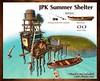 Summer Shelter-01 (hekirekika2017) Tags: secondlife summer sea fun pose boat summershelter fishing watermill shower backflip pool shore comingsoon jpk