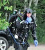 Getting technical (chemsuiter) Tags: technicaldiving rebreather quarrydive drysuit