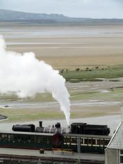 Garratt #87 - Welsh Highland Railway, Porthmadog 2017 (Dave_Johnson) Tags: ynystywyn gwynedd porthmadog welshhighlandrailway welshhighland rheilffordderyri rheilffordd eryri whr narrowgaugerailway narrowgauge greatlittletrainsofwales railway rail steamrailway wales steamengine steamtrain steamlocomotive steam train loco locomotive porthmadogharbourstation harbourstation station railwaystation britanniabridge hgg16 ngg16class garratt johncockerillcompany cockerill