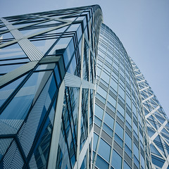 Mode (Olly Denton) Tags: design lines structure building educational school university windows glass steel tall skyscraper architecture architecturelovers architecturephotography architecturalphotography iphone iphone6 6 vsco vscocam vscotokyo vscojapan ios apple mac shotoniphone modegakuencocoontower modegakuen shinjuku tokyo japan 新宿 東京 日本