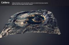 Caldera (Gagarin Interactive) Tags: lavacentre eruptions gagarin basalt interactive exhibiton iceland hvolsvollur volcanic monitoring fissure caldera
