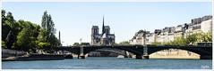 PARIS_Notre Dame vue de la Seine (regis.muno) Tags: nikond7000 paris iledefrance france laseine notredame pano panorama panoramique eau water