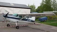 Cessna A185F Skywagon LN-NFD at Kjeller (J.Comstedt) Tags: kjeller show 2017 oslo norway field airport aircraft aviation airplane cessna 185 skywagon lnnfd air johnny comstedt