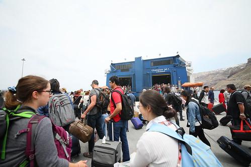 2017-05-29 熊喵希臘蜜月行 - Athinios Port 等待上船回雅典