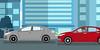Toyota: O Distraído - cena 03 (Works by Issao Bazolli) Tags: digital vetor vector toyota pinturaexpressa illustration ilustração art desenho characters