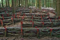 Eins und Alles, Labyrinth (reipa59) Tags: labyrinth einsundalles wald welzheim badenwürttemberg