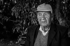 Lost in time (AdeRussell) Tags: atacama chile man sanpedro bw travel street streetphotography sanpedrodeatacama regióndeantofagasta cl