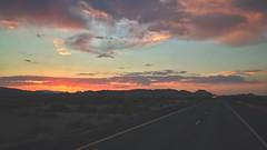 Arizona Sunrise 7/7/17 (Joe D. Photography) Tags: sunrise highway arizona morning trucking desert roadtrip iphone