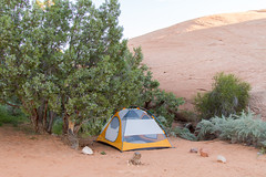 Home, Sweet, Home (W9JIM) Tags: camping tent w9jim camp moab sandflats marmot marmotlimelight3 marmotlimelight3review explore
