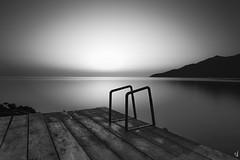 Dawn at Poulithra Arcadias (Vangelis Tzertzinis/GDISTUDIO.COM) Tags: dawn bw bythesea sunrise greece seascape sea poulithra long exposure