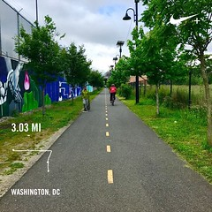 #activetransportation #urbantrailhugger #metbranch ❤️ DC #whymetrowednesday