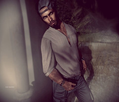 """""""Don't be afraid of being scared. To be afraid is a sign of common sense."""" (Roy Mildor - I am how I am !) Tags: roymildor ascend man guy sl secondlife photography profile"""