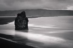 Kirkjufjara II (Jack Landau) Tags: kirkjufjara iceland ocean black sand beach landscape sea nature long exposure travel jack landau coast