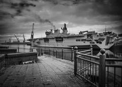 HMS Ocean (MMiPhoto) Tags: hmsocean navy military aircraft carrier ship wear sunderland fuji xt2 silverfx