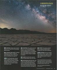 Sky & Telescope August 2017 (Jaykhuang) Tags: skytelescope magazine centerfoldpage milktothecrack jayhuangphotography