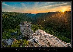 My Happy Place (Michael Besant) Tags: blackwaterfallsstatepark lindypoint sunset mountains westvirginia michaelbesant byrnemeadowphotography